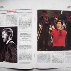 Cine: RAPHAEL. REVISTA-FASCÍCULO EL HUMOR DE TU VIDA. 1992.. Lote 124698495