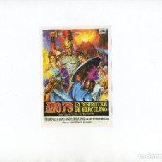 Cine: AÑO 79 LA DESTRUCCIÓN DE HERCULANO. Lote 124705863
