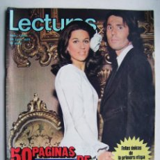 Cine: RAPHAEL. REVISTA LECTURAS . 1972.. Lote 124706219