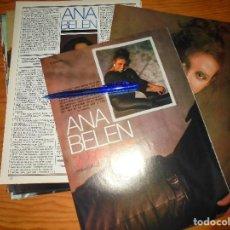Cinema: RECORTE PRENSA : ENTREVISTA A ANA BELEN. FOTOGRAMAS, JUNIO 1985. Lote 125895619