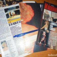 Cine: RECORTE DE PRENSA : MADONNA, ¿QUIEN ES ESA CHICA ? FOTOGRAMAS, OCTBRE 1987. Lote 126110819