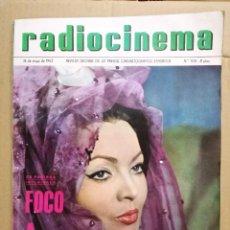 Cine: SARA MONTIEL REVISTA ESPAÑOLA RADIOCINEMA MAYO 1963. Lote 126118335