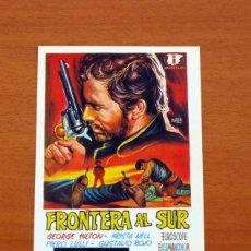 Cine: FRONTERA AL SUR - AÑO 1966 - GEORGE HILTON, KRISTA NELL, PIERO LULLI, GUSTAVO ROJO. Lote 126243911