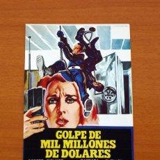 Cine: GOLPE DE MIL MILLONES DE DOLARES - AÑO 1975 - ROBERT SHAW, RICHARD ROUNDTREE, BARBARA HERSHEY. Lote 126244103