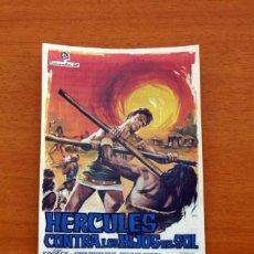 Cine: HÉRCULES CONTRA LOS HIJOS DEL SOL - AÑO 1964 - MARK FOREST, ANNA-MARIA PACE, GIULIANO GEMMA. Lote 126244331
