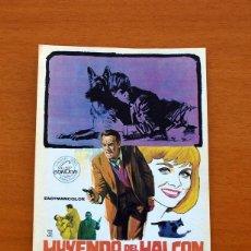 Cine: HUYENDO DEL HALCÓN - AÑO 1966 - JOHN IRELAND, DIANE MCBAIN, RICARDO PALACIOS, PEDRO MARI SÁNCHEZ. Lote 126244651