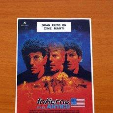 Cine: INFIERNO EN EL ARTICO, BORN AMERICAN - AÑO 1986 - MIKE NORRIS, STEVE DURHAM, DAVID COBURN. Lote 126244863