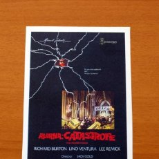 Cinéma: ALARMA: CATASTROFE, THE MEDUSA TOUCH - AÑO 1978 - RICHARD BURTON, LINO VENTURA, LEE REMICK. Lote 126321743