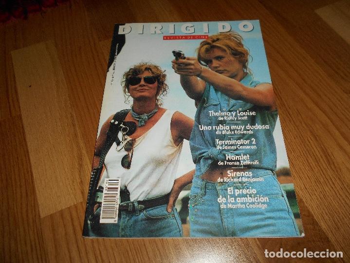 DIRIGIDO. Nº 196. NOVIEMBRE 1991. THELMA Y LOUISE. TERMIBATOR 2. EL PRECIO DE LA AMBICIÓN. (Cine - Revistas - Dirigido por)
