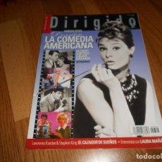 Cinema: DIRIGIDO POR... Nº 322. EXTRA. DOSSIER LA COMEDIA AMERICANA, DE ERNST LUBITSCH A BLAKE EDWARDS.. Lote 234366345