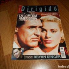Cinema: DIRIGIDO POR... Nº 323. EXTRA. DOSSIER LA COMEDIA AMERICANA (2). ESTUDIO BRYAN SINGER. CENTAUROS DEL. Lote 126344563