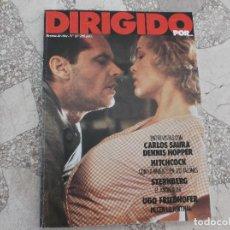 Cine: DIRIGIDO POR Nº 83, CON LA MUERTE EN LOS TALONES ,CARLOS SAURA, DENNIS HOPPER, STERNBERG,UGO FRIEDHO. Lote 212154863