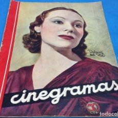Cine: CINEGRAMAS - DOLORES DEL RIO - AÑO 1935. Lote 126571939