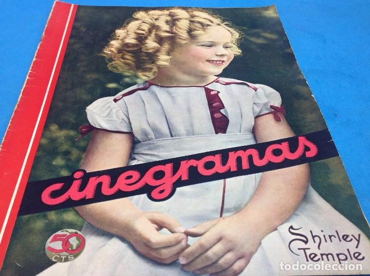 SHIRLEY TEMPLE CINEGRAMAS (Cine - Revistas - Cinegramas)