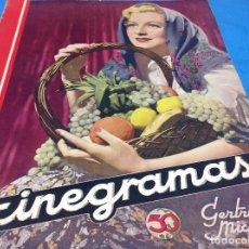 Cine: CINEGRAMAS - GERTRUDE MICHAEL - AÑO 1934. Lote 126572523