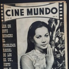 Cine: NANCY KWAN CINE MUNDO 1963 Nº 545 GIANNA MARIA CANALE. Lote 126734887