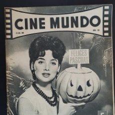 Cine: SUZANNE PLESHETTE CINE MUNDO 1961 Nº 501 LOUIS QUINN MIKKI JAMISON DOLORES DEL RIO EL CID SOPHIA . Lote 126743987