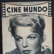 Cine: MARY PEACH CINE MUNDO 1962 Nº 504 LISA GAYE BRIGITTE BARDOT. Lote 126744239