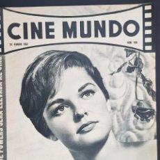 Cine: LUANA PATEEN CINE MUNDO 1962 Nº 508 BRIGID BAZLEN SARA MONTIEL BRIGITTE BARDOT. Lote 126744479