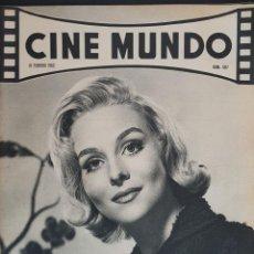 Cine: DIANE MCBAIN CINE MUNDO 1962 Nº 507 CONNIE STEVENS TARZAN EN LA PANTALLA. Lote 126744939