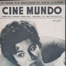Cine: NANETTE NEWMAN CINE MUNDO 1961 Nº 460 ALFREDO ALARIA. Lote 126745279