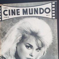 Cine: ELKE SOMMER CINE MUNDO 1962 Nº 517 LOVELY BARBARA MARILYN MONROE VIDAS REBELDES TROY DONAHUE. Lote 126745615