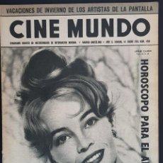 Cine: LESLIE CARON CINE MUNDO 1961 Nº 458 DEBORAH KERR JEANNE MOREAU. Lote 126746399