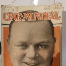 Cine: 7 REVISTAS CINE MUNDIAL AÑO 1920. Lote 126785458