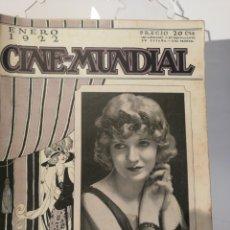 Cine: 12 REVISTAS CINE MUNDIAL 1922. AÑO COMPLETO!. Lote 126800171