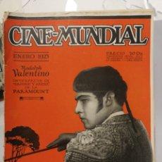 Cine: 12 REVISTAS CINE MUNDIAL 1923. AÑO COMPLETO!. Lote 126801388