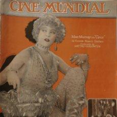 Cine: 10 REVISTAS CINE MUNDIAL AÑO 1925. Lote 126802059