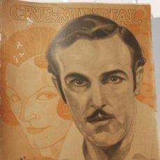 Cine: 12 REVISTAS CINE MUNDIAL 1926. AÑO COMPLETO!. Lote 126802495