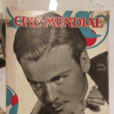 Cine: REVISTA CINE MUNDIAL AÑO 1929. NÚMERO DE FEBRERO.. Lote 126802619
