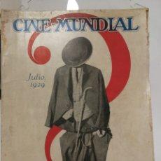 Cine: REVISTA CINE MUNDIAL JULIO 1929.. Lote 126802712