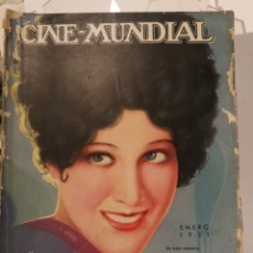 Cine: 11 REVISTAS CINE MUNDIAL AÑO 1931.. Lote 126803802