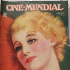 Cine: 8 REVISTAS CINE MUNDIAL AÑO 1933.. Lote 126804559