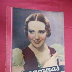 Cine: REVISTA CINEGRAMAS. Nº 3. SEPTIEMBRE 1934. FRANCISKA GAAL EN PORTADA. Lote 127003411