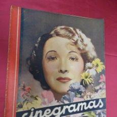 Cine: REVISTA CINEGRAMAS. Nº 7. OCTUBRE 1934. CINEGRAMAS HELEN TWELVETREES EN PORTADA. Lote 127004351