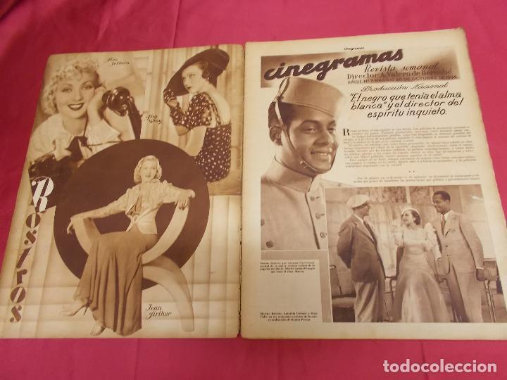 Cine: REVISTA CINEGRAMAS. Nº 7. OCTUBRE 1934. CINEGRAMAS HELEN TWELVETREES EN PORTADA - Foto 2 - 127004351