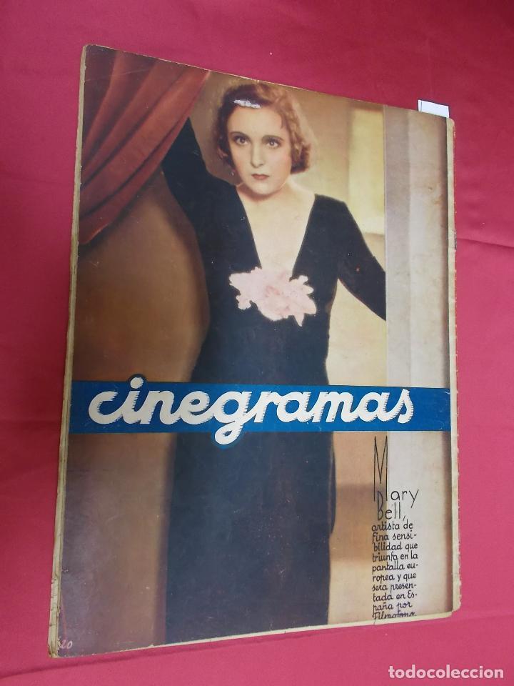 Cine: REVISTA CINEGRAMAS. Nº 7. OCTUBRE 1934. CINEGRAMAS HELEN TWELVETREES EN PORTADA - Foto 10 - 127004351