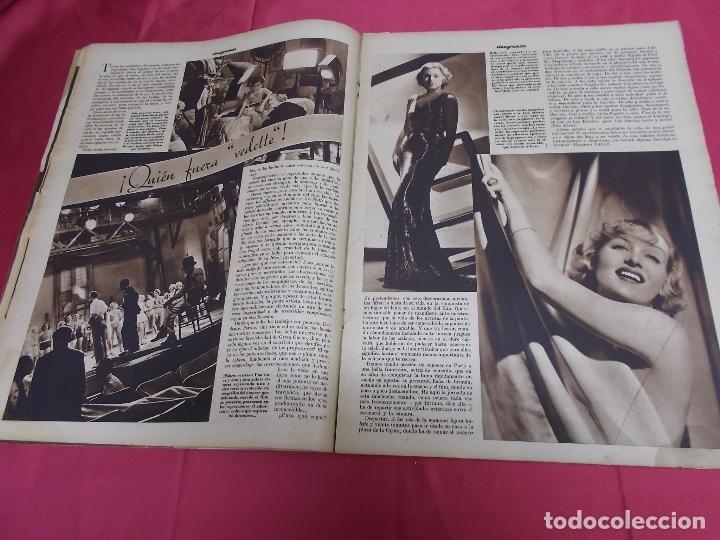 Cine: REVISTA CINEGRAMAS. Nº 10. NOVIEMBRE 1934. CINEGRAMAS CAROLE LOMBARD EN PORTADA - Foto 5 - 127005219