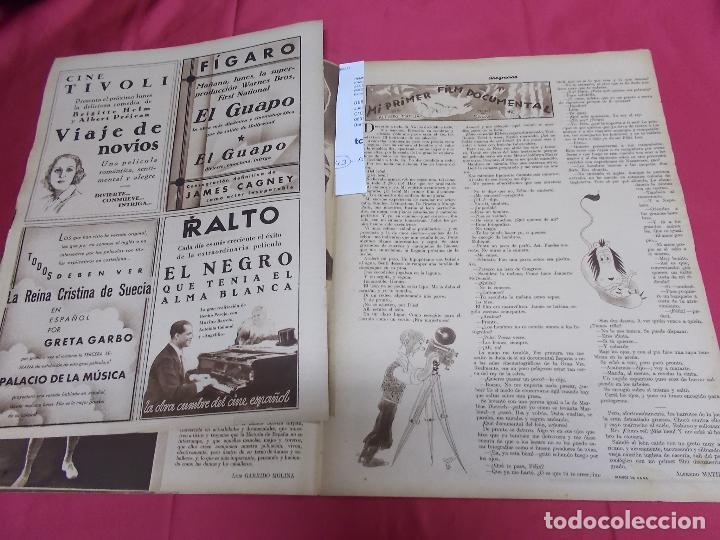 Cine: REVISTA CINEGRAMAS. Nº 10. NOVIEMBRE 1934. CINEGRAMAS CAROLE LOMBARD EN PORTADA - Foto 6 - 127005219