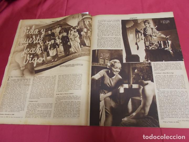 Cine: REVISTA CINEGRAMAS. Nº 10. NOVIEMBRE 1934. CINEGRAMAS CAROLE LOMBARD EN PORTADA - Foto 7 - 127005219