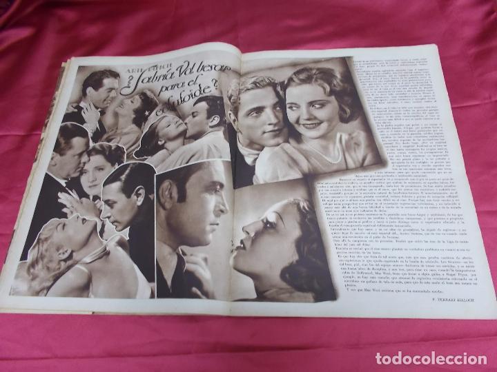 Cine: REVISTA CINEGRAMAS. Nº 17. ENERO 1935. CINEGRAMAS LORETTA YOUNG EN PORTADA - Foto 4 - 127007299