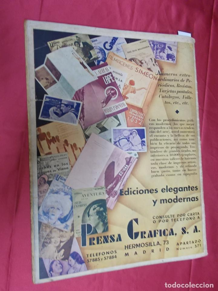 Cine: REVISTA CINEGRAMAS. Nº 17. ENERO 1935. CINEGRAMAS LORETTA YOUNG EN PORTADA - Foto 7 - 127007299