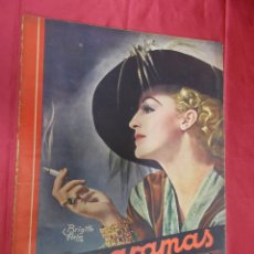 Cine: REVISTA CINEGRAMAS. Nº 22. FEBRERO 1935. CINEGRAMAS BRIGITTE HELM EN PORTADA. Lote 127007859