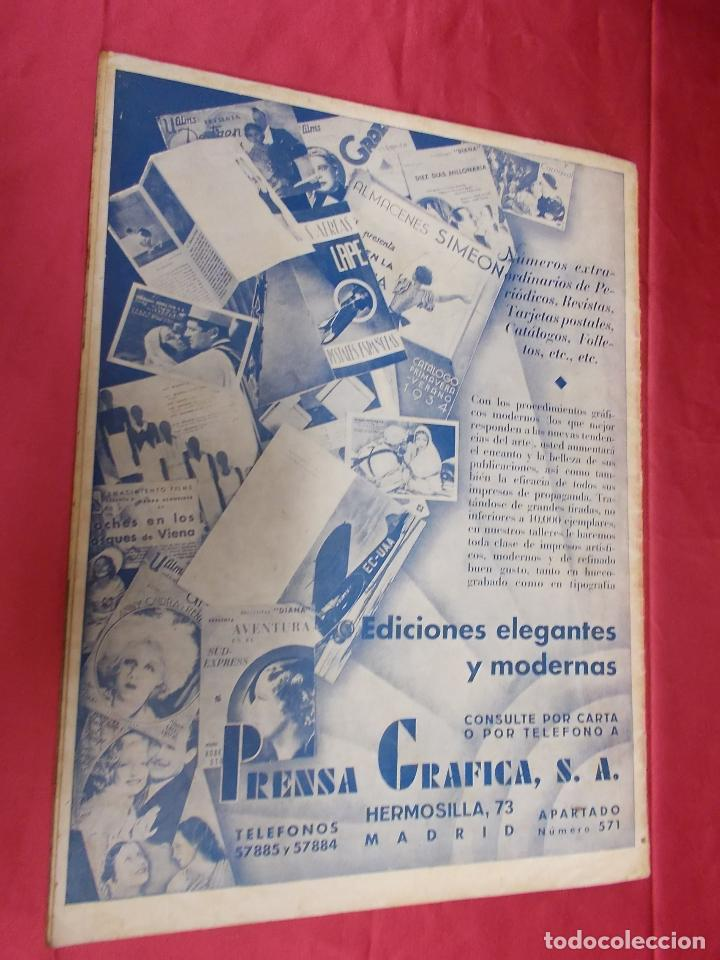 Cine: REVISTA CINEGRAMAS. Nº 22. FEBRERO 1935. CINEGRAMAS BRIGITTE HELM EN PORTADA - Foto 7 - 127007859
