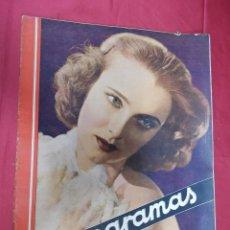 Cine: REVISTA CINEGRAMAS. Nº 55. SEPTIEMBRE 1935. CINEGRAMAS FLORINE KINNEY EN PORTADA. Lote 127008891