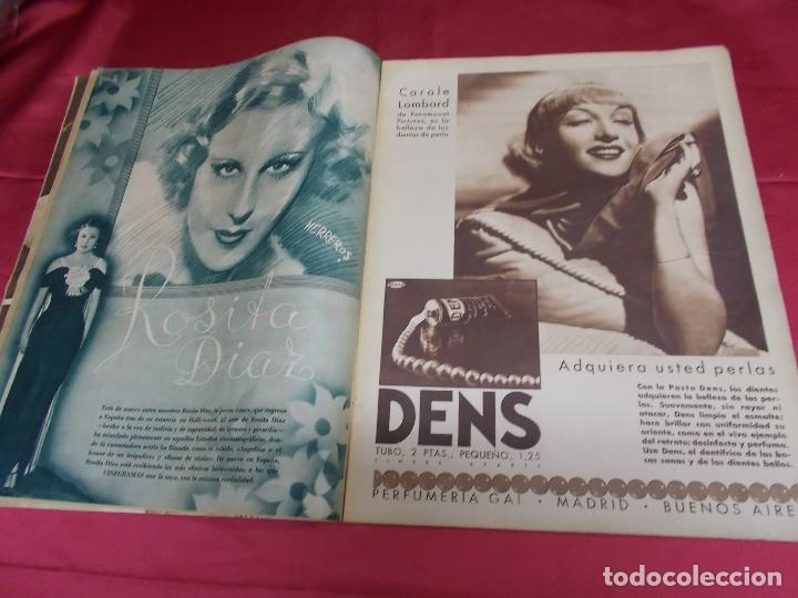 Cine: REVISTA CINEGRAMAS. Nº 55. SEPTIEMBRE 1935. CINEGRAMAS FLORINE KINNEY EN PORTADA - Foto 3 - 127008891