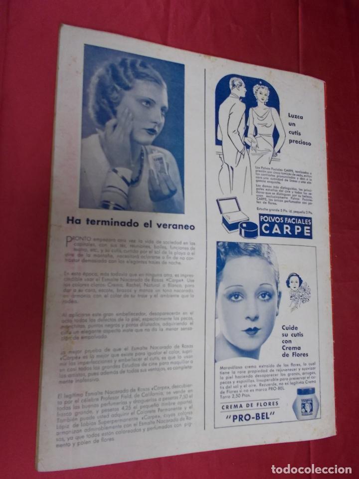 Cine: REVISTA CINEGRAMAS. Nº 55. SEPTIEMBRE 1935. CINEGRAMAS FLORINE KINNEY EN PORTADA - Foto 6 - 127008891